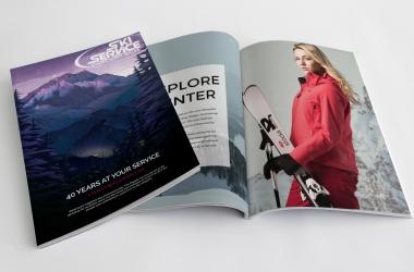 8te Ausgabe des Skiservice Corvatsch Magazins