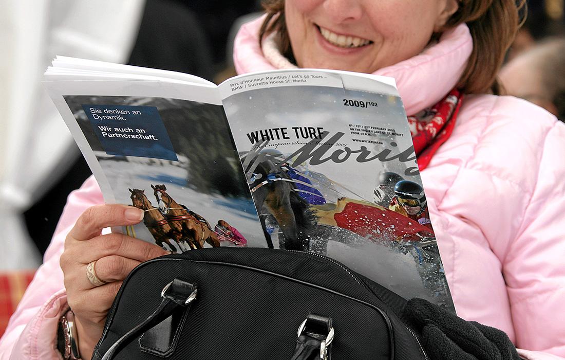 White Turf St. Moritz: Feature