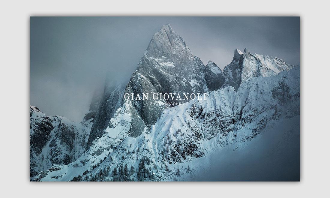 Gian Giovanoli Responsive Website
